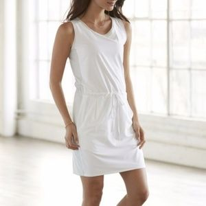 Athleta Zoe Sport White & Gray Colorblock Dress